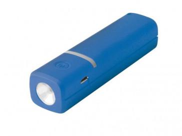 POWERBANK 2600MAH + CABLE MICRO USB AZUL BXBA2600UAZ KISX