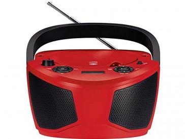 RADIO RCD1050 ROJO/NEGRO GRUNDIG