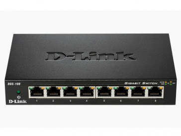 SWITCH ETHERNET DGS-108 D-LINK