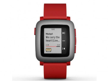 SMARTWATCH TIME ROJO PEBBLE