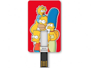 PENDRIVE ICONICCARD SIMPSONS FAMILY 8GB SILVER HT