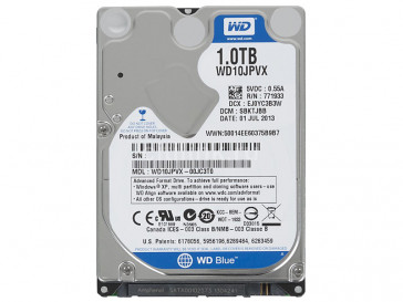 BLUE MOBILE 1TB WD10JPVX WESTERN DIGITAL