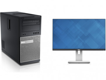 "OPTIPLEX 9020MT (9020-8677) + MONITOR 24"" DELL"