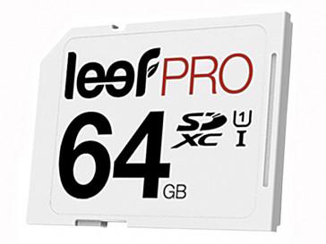 SDXC PRO 64GB CLASE 10 UHS-I LSP30006410E3U LEEF