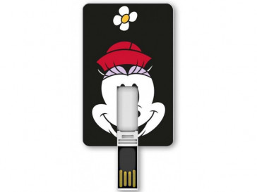 PENDRIVE ICONICCARD MINNIE 8GB SILVER HT