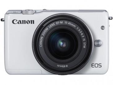 CAMARA EVIL CANON EOS M10 BLANCA + EF-M 15/45 IS STM