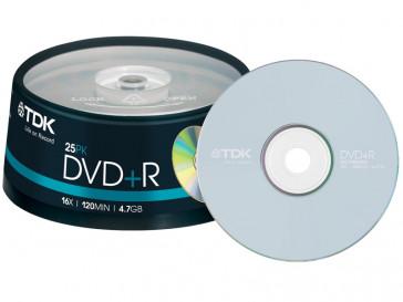 DVD+R 4.7GB 25 UD TDK