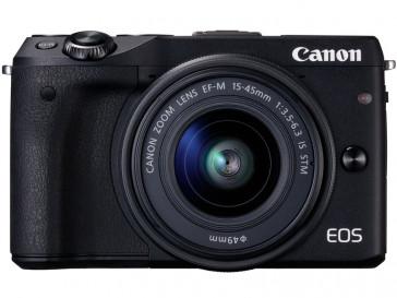 CAMARA REFLEX CANON EOS M3 + EF-M 15/45 IS STM