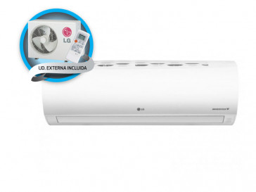 AIRE ACONDICIONADO SPLIT 1X1 INVERTER FRESH12.SET LG