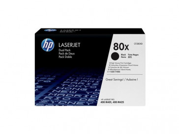 KIT TONER NEGRO (CF280XD?QTY2) HP