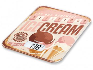 BALANZA DE COCINA KS19 ICE CREAM BEURER