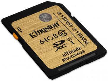 SDXC 64GB CLASE 10 UHS-I (SDA10/64GB) KINGSTON