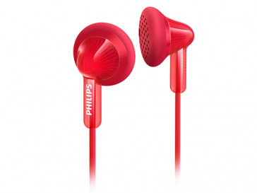 AURICULARES SHE3010RD/00 ROJO PHILIPS