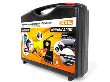 KIT POWERBANK + SISTEMA DE ARRANQUE COCHE + COMPRESOR NC1205 ENGEL