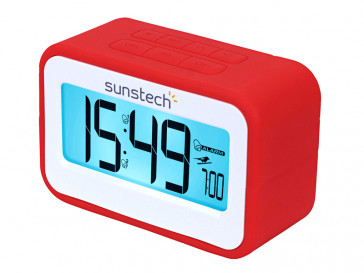 RADIO RELOJ DESPERTADOR FRD30U (R) SUNSTECH