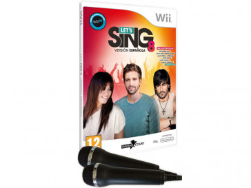 JUEGO WII LET'S SING 8 ELECTRONIC ARTS