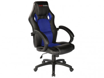 SILLA GAMER MGC1 (B/BL) MARS GAMING