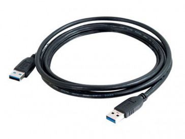 CABLE 1M USB 3.0 AM-AM NEGRO 81677 C2G