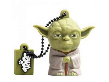 PENDRIVE TRIBE STAR WARS YODA 16GB SILVER HT
