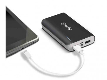 POWERBANK 6000MAH PB60000BK NEGRO CELLY
