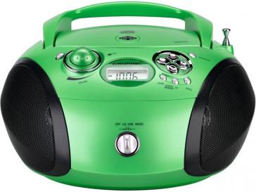 RADIO RCD 1445 USB VERDE/NEGRO GRUNDIG