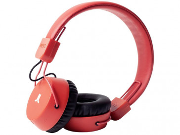 AURICULARES PISTON BT BRIGHT RED WESC