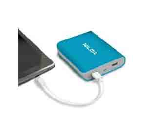 POWER BANK 8000MAH NXPB8000LB (BL) NILOX