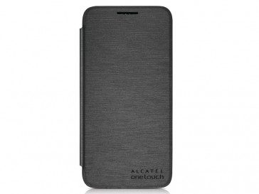 "FUNDA FLIP COVER PIXI 3 4.5"" NEGRA ALCATEL"
