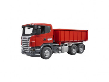 SCANIA R-SERIE LKW CON CONTAINER BRUDER
