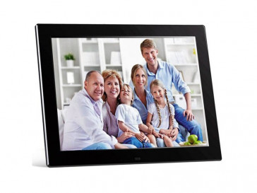 "DIGIFRAME 1281 HD 12"" NEGRO BRAUN PHOTOTECHNIK"