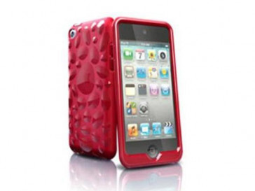 PEBBLE CASE IPOD TOUCH 4 TCVBP4-RD1 ISKIN