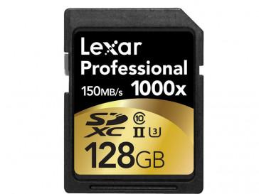 SDXC 128GB 1000X UHS-II LSD128CRBEU1000 LEXAR