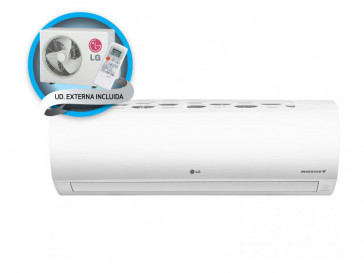 AIRE ACONDICIONADO SPLIT 1X1 INVERTER FRESH09.SET LG