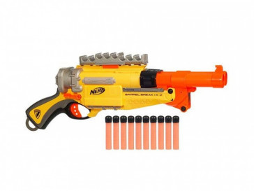 NERF N-STRIKE BARREL IX2 HASBRO