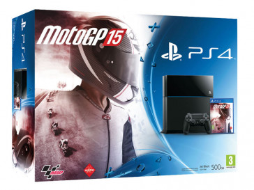 CONSOLA PS4 500GB + MOTOGP 15 9898535 SONY