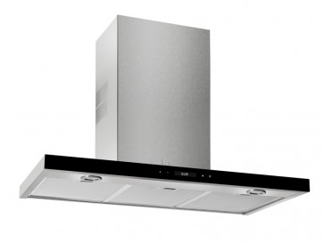 CAMPANA TEKA DECORATIVA PARED 110CM INOX LED DH-1185T