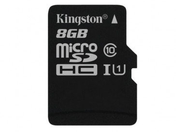 MICRO SDHC 8GB CLASE 10 UHS-I (SDC10G2/8GBSP) KINGSTON