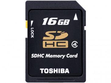 SDHC 16GB CLASE 4 SD-K16GJ(6 TOSHIBA