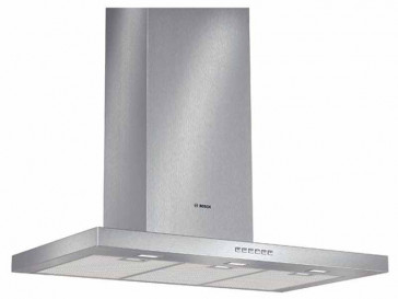CAMPANA BOSCH DECORATIVA PARED 90CM ACERO LED DWB097A50