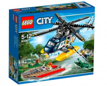 CITY PERSECUCION EN HELICOPTERO 60067 LEGO