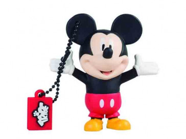 PENDRIVE TRIBE DISNEY MICKEY MOUSE 16GB SILVER HT