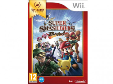 JUEGO WII SUPER SMASH BROS BRAWL SELECTS NINTENDO