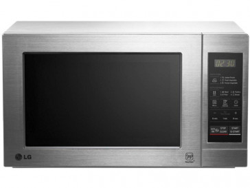 MICROONDAS INTEGRABLE LG 19L 700W ACERO INOXIDABLE CON GRILL MH6044VAT
