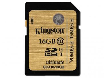 SDHC 16GB CLASE 10 UHS-I (SDA10/16GB) KINGSTON