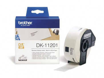 ETIQUETAS PRECORTADAS DE DIRECCION ESTANDAR DK11201 BROTHER