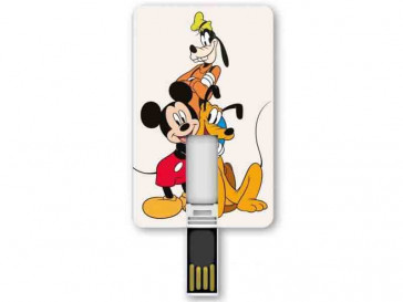 PENDRIVE ICONICCARD DISNEY GROUP 8GB SILVER HT