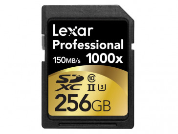 SDXC 256GB 1000X UHS-II LSD256CRBEU1000 LEXAR