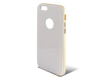 CARCASA HYBRID PARA IPHONE 6 BLANCO ORO B0925CAR22 KSIX