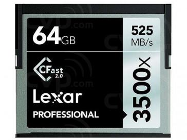 CFAST 64GB 3500X LC64GCRBEU3500 LEXAR