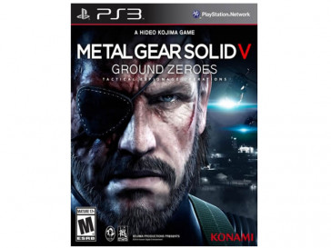 JUEGO PS3 METAL GEAR SOLID 5: GROUND ZEROES KONAMI
